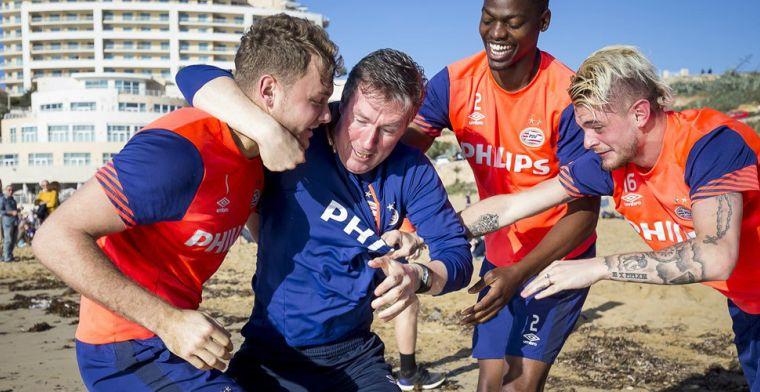 Fysiektrainer PSV verbaasd door tegenstanders: Dat kan alleen in Nederland