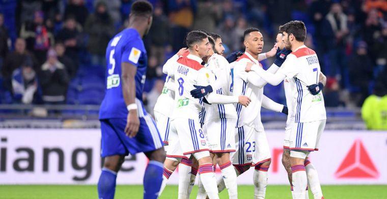 Depay en Tete worden op eigen veld verrast en stranden in Coupe de la Ligue