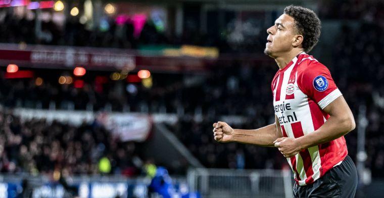 PSV-invaller Malen blij met toekomstige contractaanbieding: 'Heel prettig signaal'