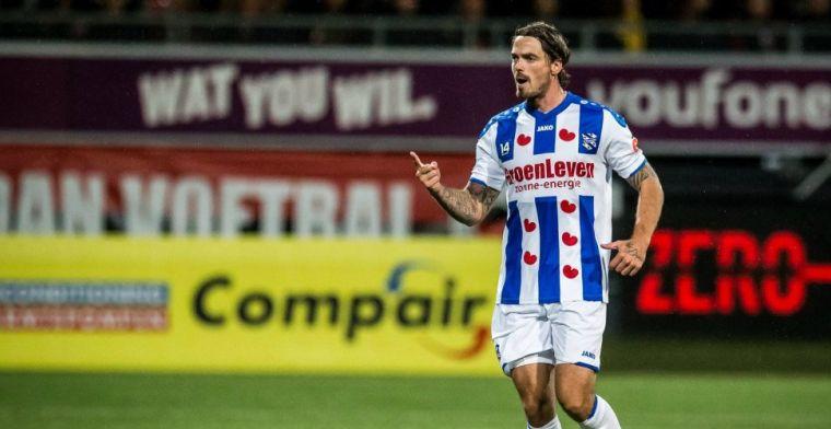 Heerenveen staat open voor vertrek: 'Hij wil graag stap naar buitenland maken'