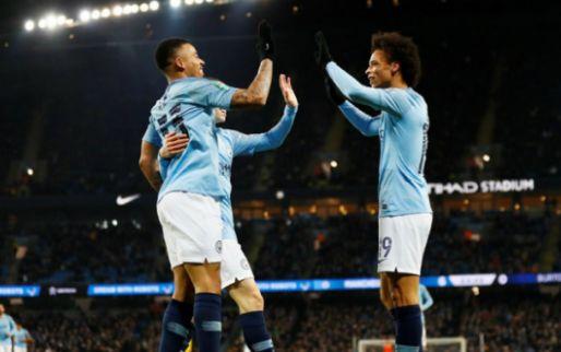 Afbeelding: Man City wint met 9-0 in halve finale League Cup en scoort 16 keer in 4 dagen