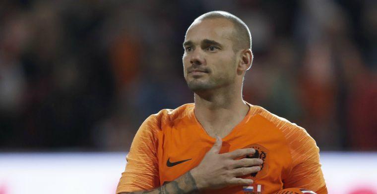 Sneijder over 'bijzondere band voor het leven': 'Komt nooit meer wat tussen'