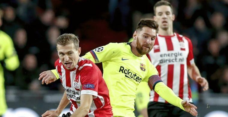 Bijna transfervrije Schwaab over toekomst bij PSV: We zijn in gesprek