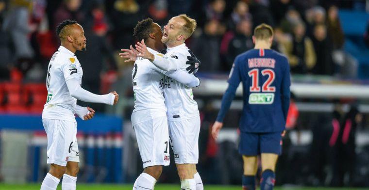 Blamage voor PSG: uitgeschakeld door eerste bekernederlaag sinds 2014