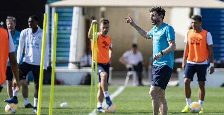Van Bommel traint resultaatgericht: 'Ook als je niet goed voetbalt moet je winnen'