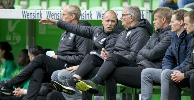 Weg bij FC Groningen: 'Maar als er niets komt, dan is het ook goed'
