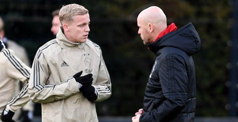 L'Equipe: PSG is na De Jong en De Ligt bezig met derde Ajax-speler