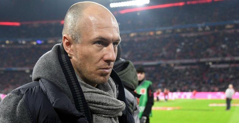 Robben komt met update: Het is niet gegaan zoals ik me had voorgesteld