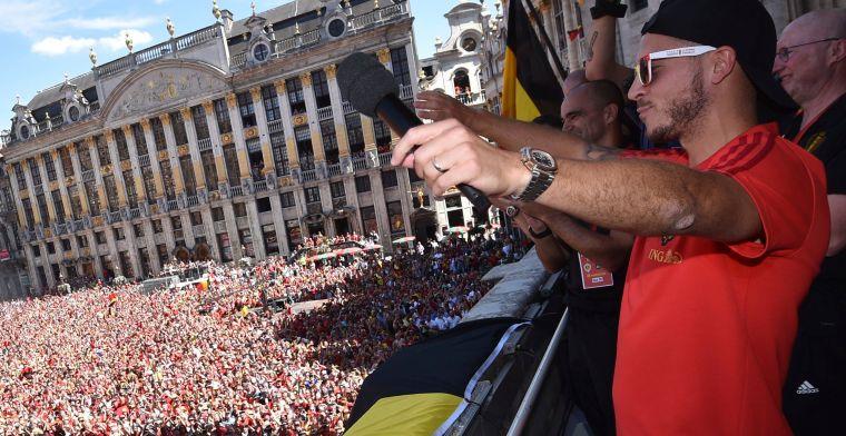 Hazard haalt UEFA-sterrenteam van 2018, geen andere Rode Duivels
