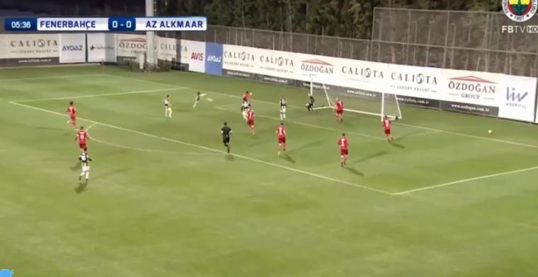 Fenerbahçe laat AZ alle hoeken van het veld zien met aanval over twaalf schijven