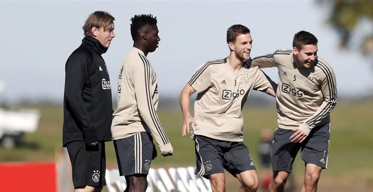 'Exit bij Ajax: Wöber neemt afscheid van ploeggenoten en vertrekt naar Spanje'