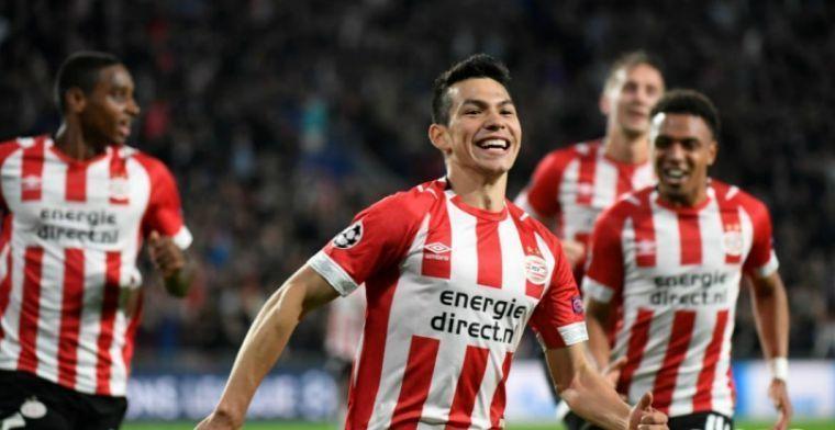 'Napoli hoopt Lozano-transfer snel af te ronden en biedt dertig miljoen en Younes'