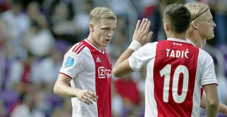 Sterke slotfase bezorgt wisselvallig Ajax 'vriendschappelijke' zege op Sao Paulo