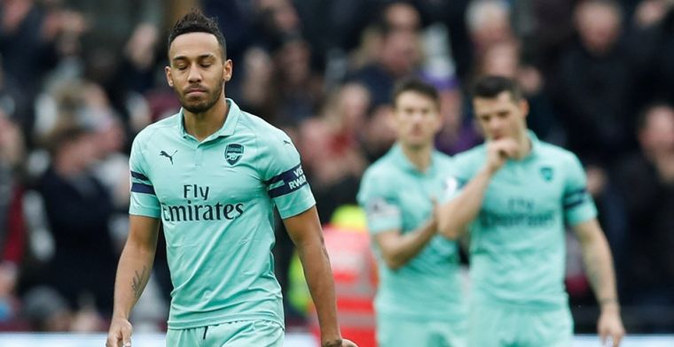 Zwak Arsenal gaat onderuit in stadsderby en verliest zicht op top-vier
