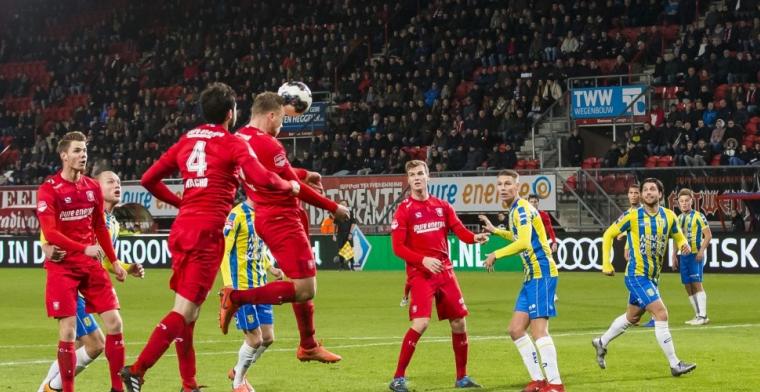 FC Twente 'te groot' voor de eerste divisie: 'Dat is in onze situatie niet reeël'