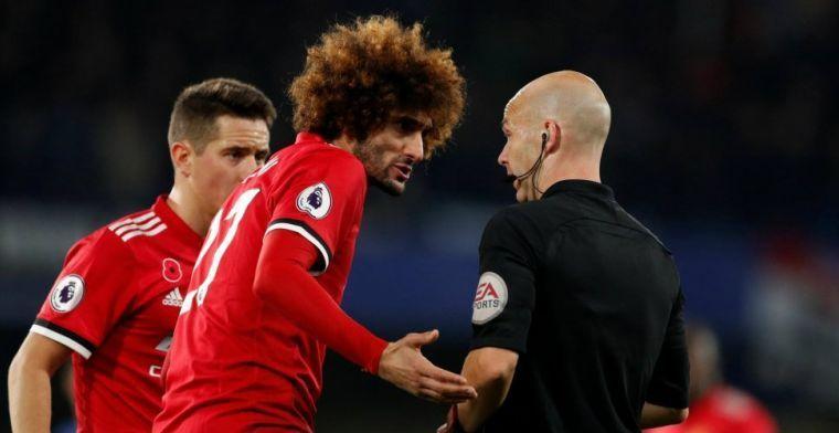 Fellaini in januari weg bij Manchester United? 'Drie clubs volgen zijn situatie'
