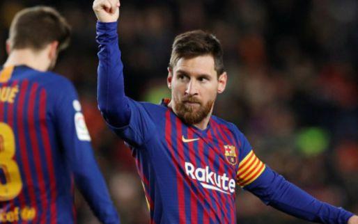 Afbeelding: Suarez en jubilaris Messi maken indruk bij ruime overwinning FC Barcelona