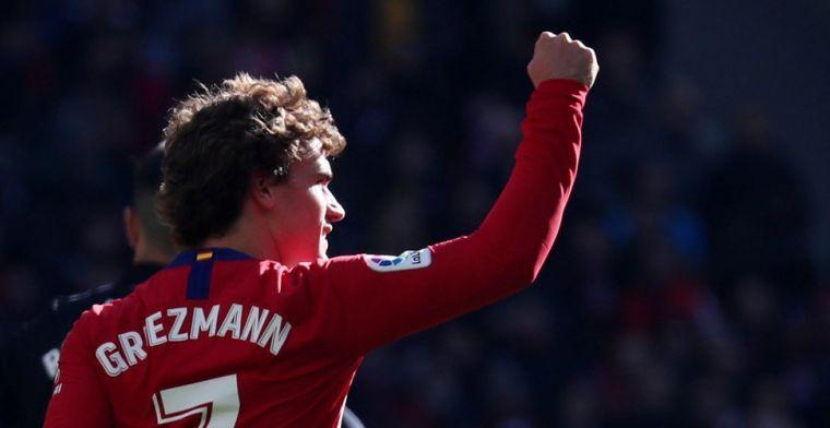 Atlético Madrid voert druk op FC Barcelona op dankzij matchwinner Griezmann