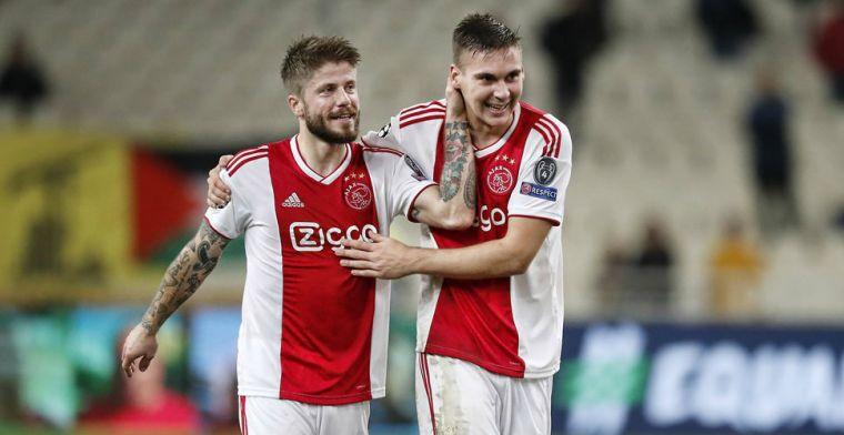 Jonker: 'Het is geen Ajax-speler, hè. Houterig en weinig voetballend vermogen'