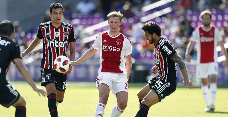 Marca: Ajax en PSG nagenoeg akkoord over De Jong: 70 miljoen, 10 miljoen per jaar