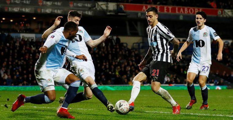 Newcastle heeft verlenging nodig om door te gaan, Valencia wordt gered door Mina