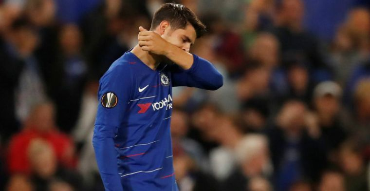 'Morata staat voor terugkeer naar Madrid: Chelsea-spits wil salaris inleveren'