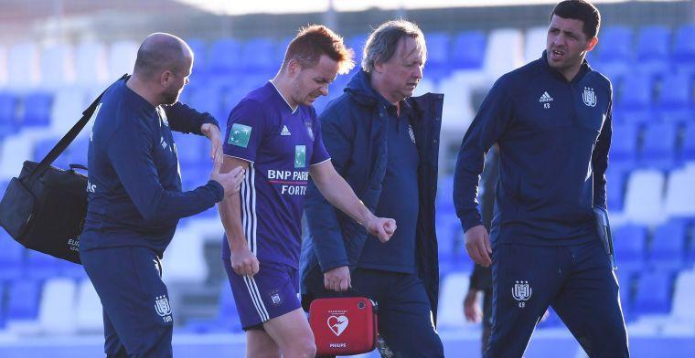 UPDATE: 'Anderlecht krijgt goed en slecht nieuws over blessure van Trebel'