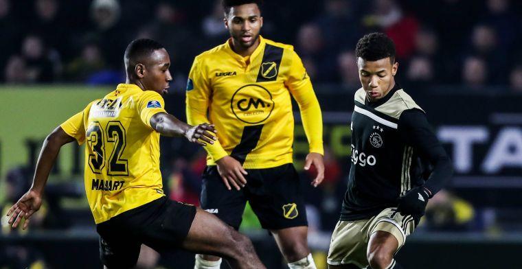 NAC contracteert enthousiaste back: 'Tegen Ajax, had ik niet helemaal verwacht'