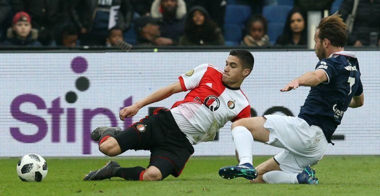 'Feyenoord verliest strijd om Diks: rechtsback verhuist naar België'