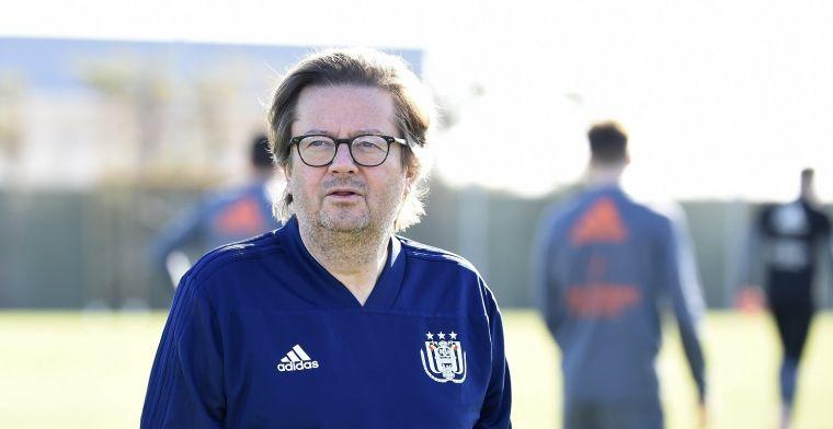 'Coucke grijpt in en haalt triatleet terug naar Anderlecht'