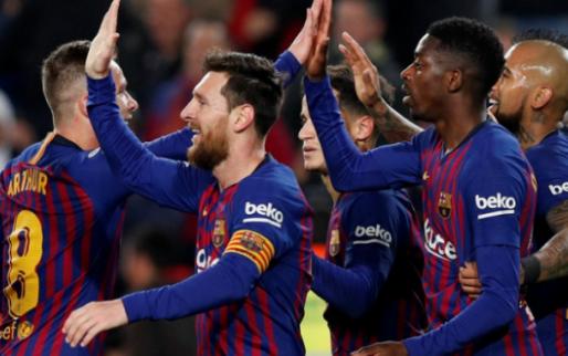 Afbeelding: Barcelona poetst nederlaag weg en plaatst zich voor kwartfinales Copa Del Rey