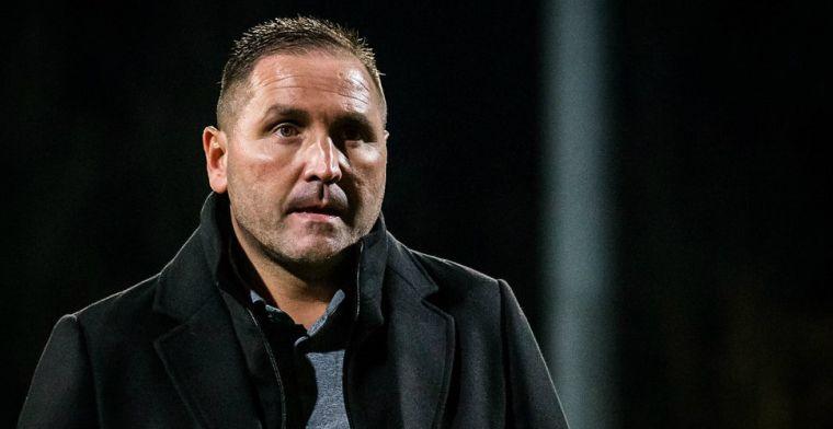 Onrust bij hekkensluiter Eerste Divisie: assistent-trainer vertrekt door conflict