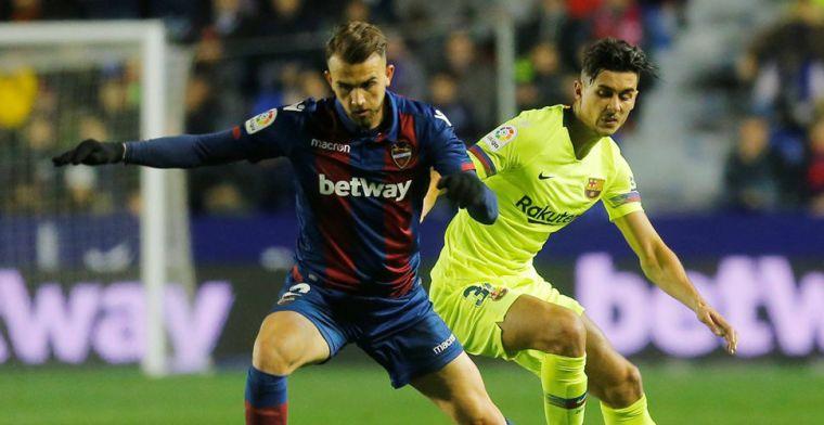 Update: Barcelona moet bekeruitschakeling vrezen: Levante dient klacht in