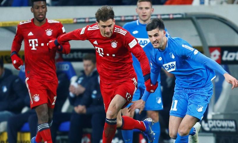 Afbeelding: Bayern hervat Bundesliga met overwinning: Goretzka de grote uitblinker