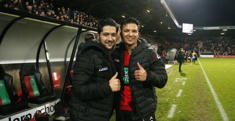 'Verbannen Darri en Achahbar scholden trainer De Gier uit in het Marokkaans'