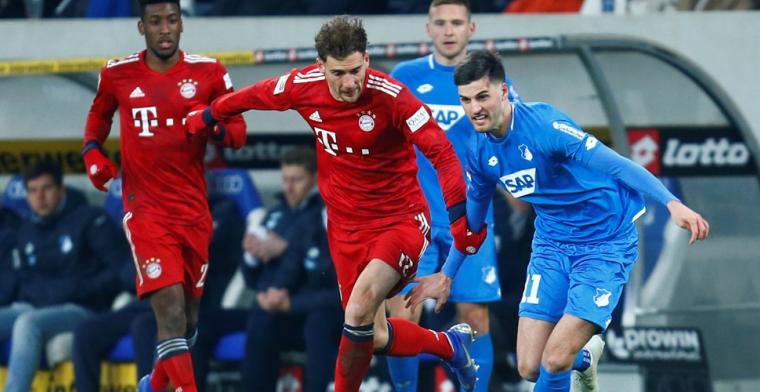 Bayern hervat Bundesliga met overwinning: Goretzka de grote uitblinker