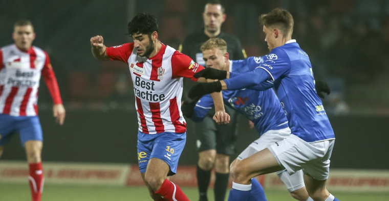 Koploper Den Bosch wint opnieuw, puntenverlies Sparta, afstraffing Jong Ajax