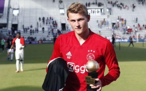 Afbeelding: De Ligt prijst winteraankoop Ajax: 'Kwaliteit die je in Nederland niet vaak ziet'