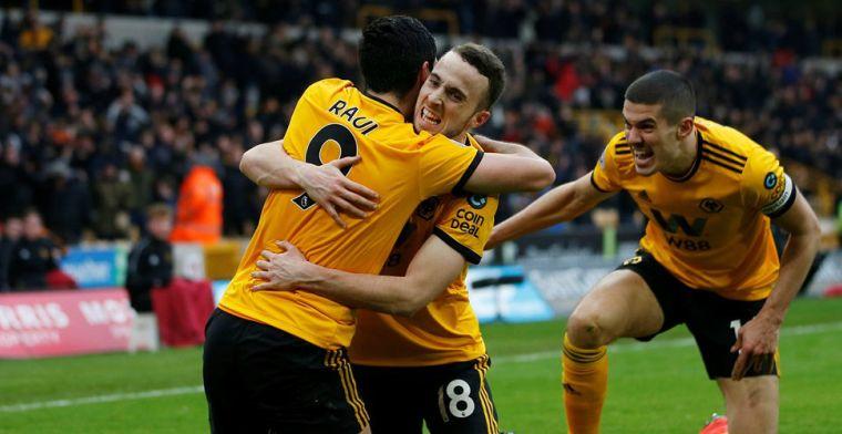 Jota beslist doelpuntenfestijn voor Wolves, Everton lijdt nederlaag in Southampton