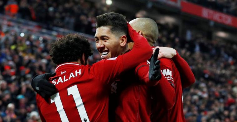 Liverpool komt weer met de schrik vrij: doelpuntenfestijn op Anfield