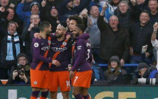 Afbeelding: Oppermachtig Man City hijgt Liverpool weer in de nek na zege op Kongolo en Bacuna