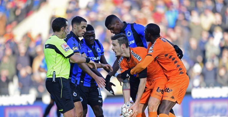 Club Brugge verliest en ziet Racing Genk nog verder uitlopen