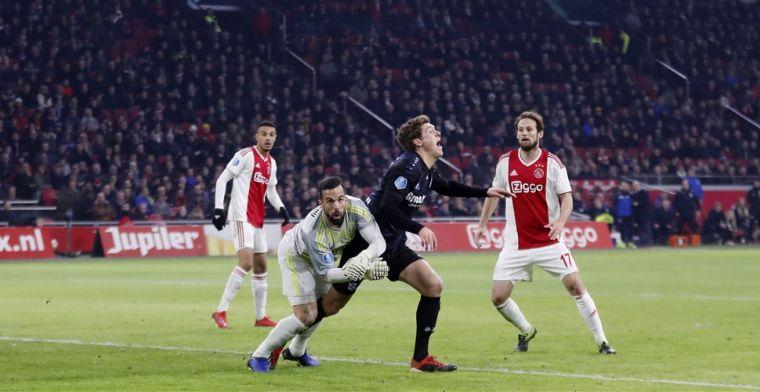 Van der Ende vol ongeloof na Ajax - Heerenveen: Dit valt niet uit te leggen