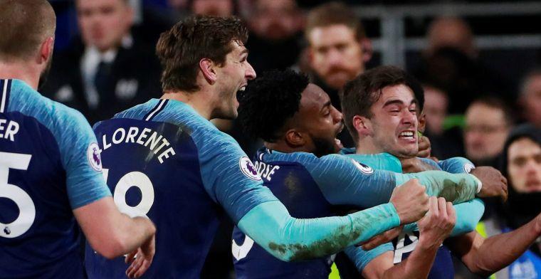Tottenham knokt zich in laatste seconde naar zege op Fulham, prima debuut Babel