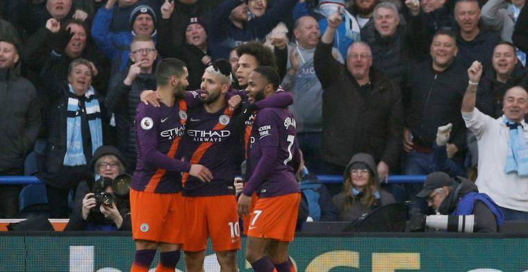 Oppermachtig Man City hijgt Liverpool weer in de nek na zege op Kongolo en Bacuna