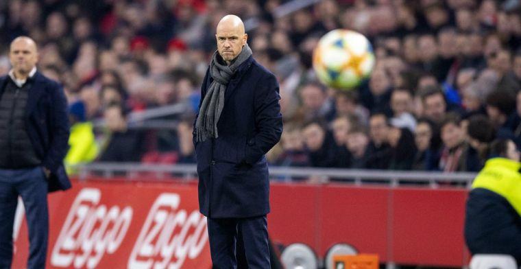 Ten Hag sluit komst nieuwe Ajax-doelman niet uit: 'Doe ik geen uitspraak over'