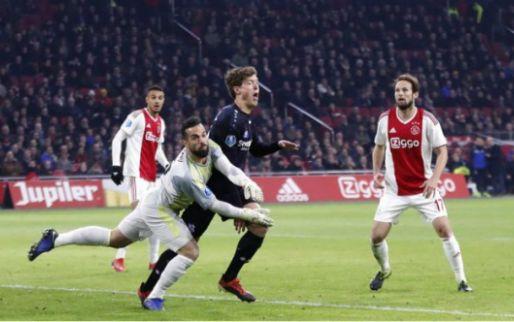 Afbeelding: Koeman: 'Misschien is het ook wel de druk: je moet een penalty tegen Ajax geven'
