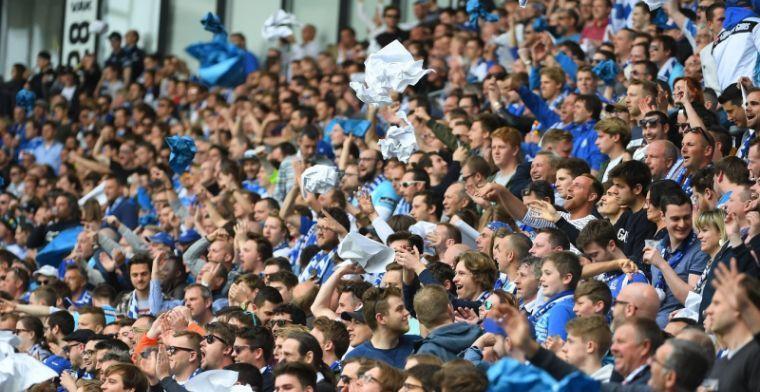 Belgische arbiters niet meer welkom in Gent: tickets doorgegeven aan Utrecht-fans