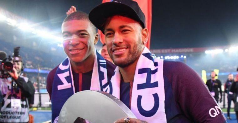 'Heel goed mogelijk dat Mbappé en Neymar zulke berichtjes naar Frenkie sturen'