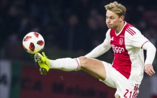 Afbeelding: BREAKING: Ajax kondigt enorme transfer van De Jong naar Barcelona aan